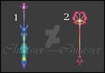OPEN (2/2) Weapon Adopts Set 2 by Chiutsux