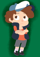 Dipper Pines by CrownOfVines