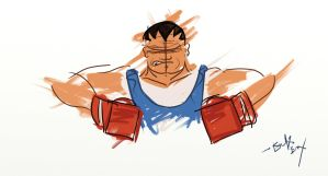 Balrog Street Fighter by Fellowroot