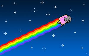 The Nyan Cat by Jayro-Jones