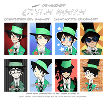 Style Meme with Once-ler! by Sam-ST