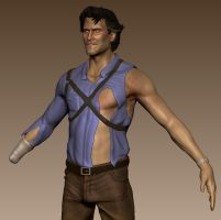 Ash Williams (Evil Dead, Army of Darkness) - WIP 2 by FoxHound1984