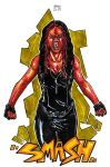 She Red Hulk by Carlossoares