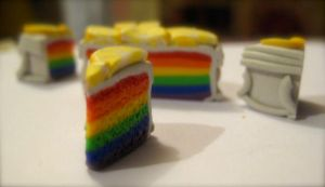 WIP - Rainbow Cake, almost II by eatyourbrians