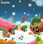 ::Angry Birds Space: Utopia:: by Hayyie