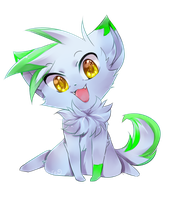 Simple Chibi Commission for Blue-Raccoon-Pro by Hideaki-FV2