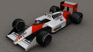 McLaren Honda MP4-4 Render by LordZargon
