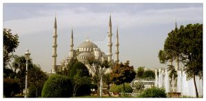 blue mosque by masseva