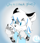 Shopping for Gloves by MsLunarUmbreon