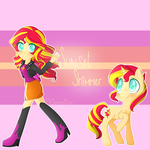 Sunset Shimmer by DrSunnyBun