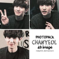 PHOTOPACK EXO- CHANYEOL by Ruby244