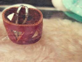 leather ring by rekcorlovexanna