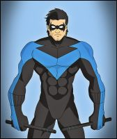 Nightwing - Blue by DraganD