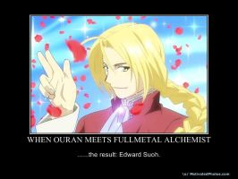 When Ouran meets.. by EchoingWolfCall