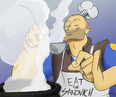 Cooking Heavy by alpha00zero
