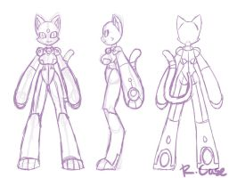 Space Kitty Model Sheet WIP by rongs1234