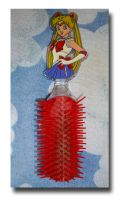 Sailor Moon Hair Brush by Magical-Mama