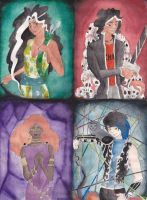 The Four Sides of the Underworld by MoonlightFirefox