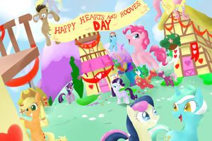 Hearts and Hooves Day by Rixnane
