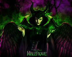 Maleficent by NinaVisallo