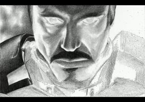 Iron Man - Drawing Animation by shonechacko