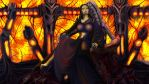 Wraith Queen Violette by exobiology