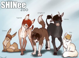SHINee Zoo by Opium5