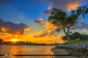 North-Palm-Beach-Sunset-at-Waterway-Intracoastal by CaptainKimo