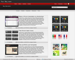 Multi Header Color Wordpress T by alexandreperei