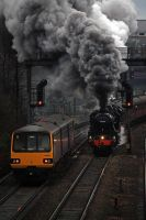 A Real Train by CJSutcliffe