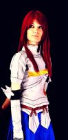 Erza Scarlet Cosplay 02 by LadyNoa