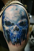 Frozen Skull by filthmg