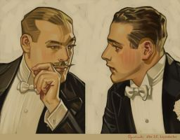Leyendecker Study by Greg-Opalinski