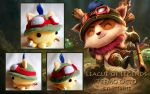 League of Legends Teemo Octo Plush by ValkyriaCreations
