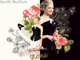 Emma Stone... by SweettEmottion