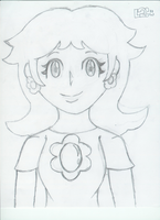 Old sketch Daisy:front view by luigi2cool
