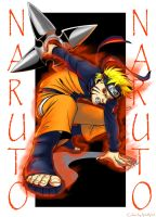 Naruto Colored by CathyStephens