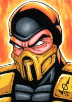 Sketch Card - Scorpion MK by gb2k