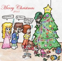 Merry Christmas 2013 by BabyAbbieStar