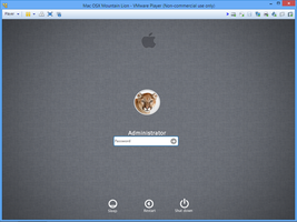 Mountain Lion Logon by PeterRollar