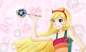 Star Butterfly by Monchimon22