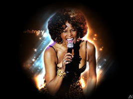 Whitney Houston wallpaper by johnonippy