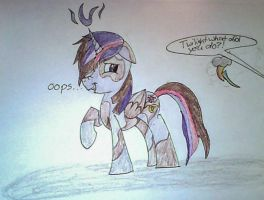 Request #6 -Mlp-Antasma-Beat by 1WolfieFrost1