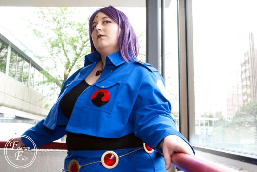 Attack on Teen Titans Raven by Azure-Rose-Cosplay
