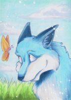 Keck der Fuchs/ Keck the fox by uniquorned