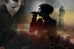 Ville Valo Banner No.3 by Maggiesgirl