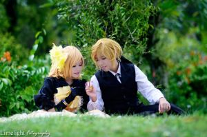 Kagamine Len: I will be by your side by KuroyamiAkai