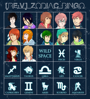 REv: Zodiac Bingo by Wolves1207