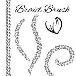 Braid Brush by madam-marla