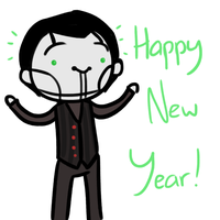 Happy New Year 2014 by thefeltfan6